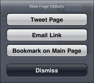 Flitter-weboptions